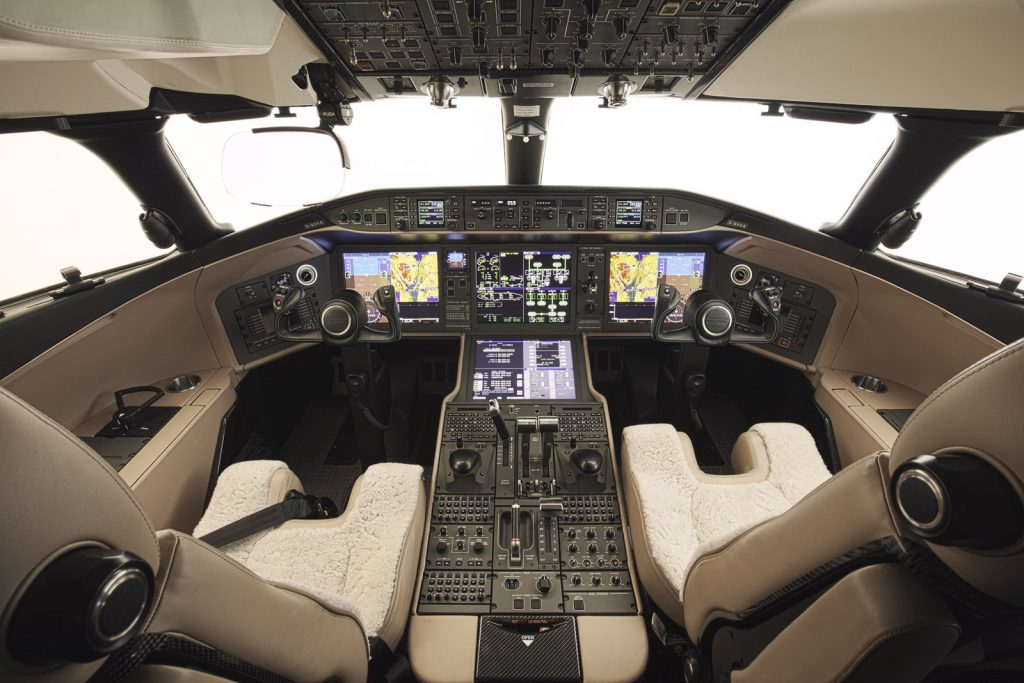 Global 6000 Cockpit. Private Jet Charter Global 6000 Rental Rates and Hire Cost