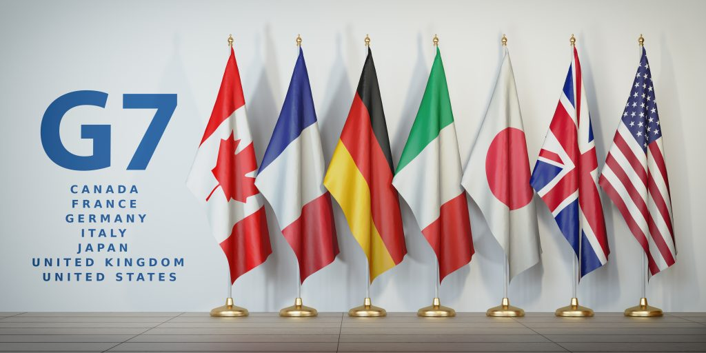 G7 Covid Passports Flags