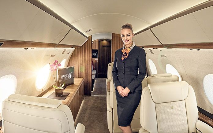A Day in the Life of a Corporate Jet Cabin Crew